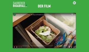 Sauberer Bioabfall