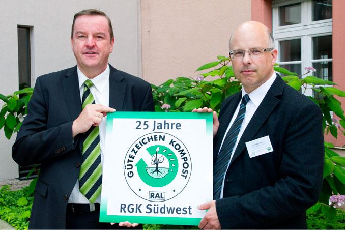 25 Jahre Gütegemeinschaft Kompost Region Südwest e. V.