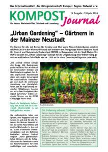 Kompost Journal | Frühjahr 2014 - Ausgabe Nr. 19 -