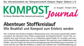 Kompost Journal | Frühjahr 2015 - Ausgabe Nr. 21