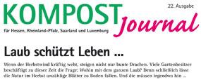 Kompost Journal | Herbst 2015 - Ausgabe Nr. 22