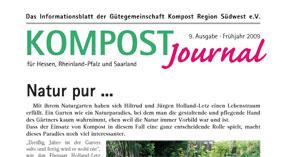 Kompost Journal | Frühjahr 2009 - Ausgabe 9