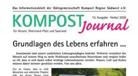 Kompost Journal | Herbst 2009 - Ausgabe 10