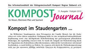 Kompost Journal | Frühjahr 2010 - Ausgabe 11