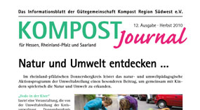 Kompost Journal | Herbst 2010 - Ausgabe 12