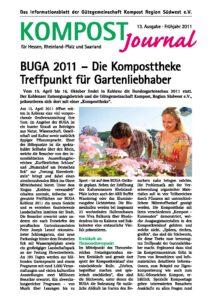 Kompost Journal | Frühjahr 2011 - Ausgabe Nr. 13