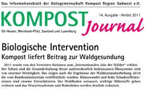 Kompost Journal | Herbst 2011 - Ausgabe Nr. 14