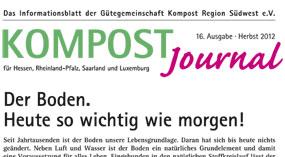 Kompost Journal | Herbst 2012 - Ausgabe Nr. 16