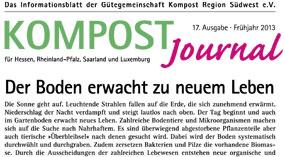 Kompost Journal | Frühjahr 2013 - Ausgabe Nr. 17
