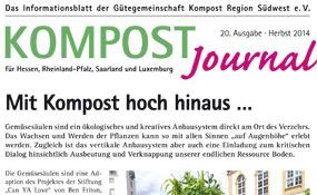 Kompost Journal | Herbst 2014 - Ausgabe Nr. 20